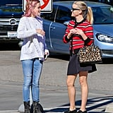 Reese Witherspoon and Ava Phillippe Pictures