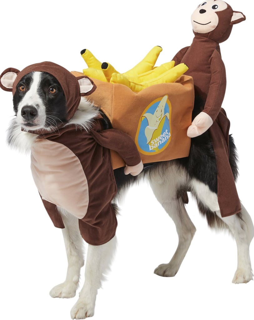 Frisco Monkeys Carrying Bananas Dog Costume