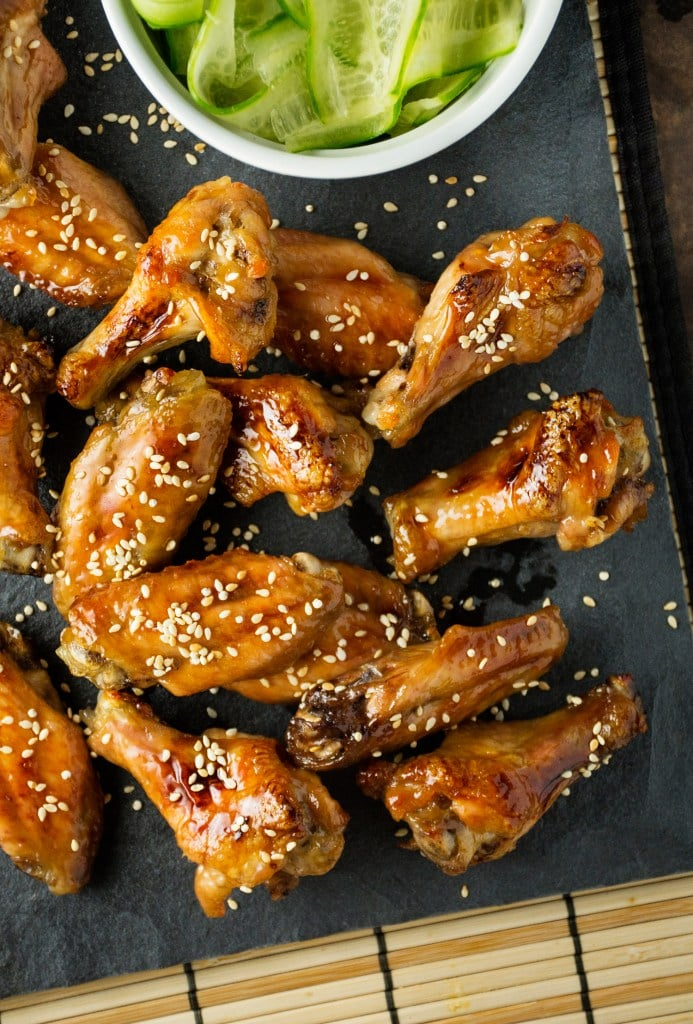 Sweet and Sticky Japanese Chicken Wings
