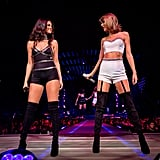 Selena Gomez on Stage With Taylor Swift at 1989 Tour