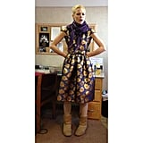 Jaime King paired Uggs with a pretty dress. Source: Instagram user jaime_king