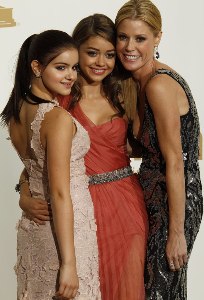 Ariel Winter, Sarah Hyland, and Julie Bowen at the 2011 Emmy Awards