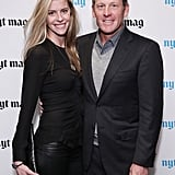 Lance Armstrong and Anna Hansen