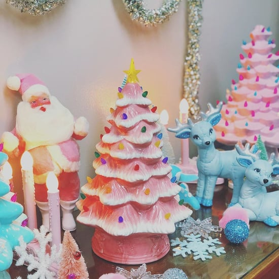 Target Is Selling an Adorable Pink Ceramic Christmas Tree