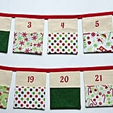 Buy: Fabric Bunting Advent Calendar
