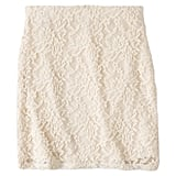 Xhilaration White Lace Skirt