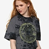 Harry Potter Horcrux Wheel Girls Crop T-Shirt