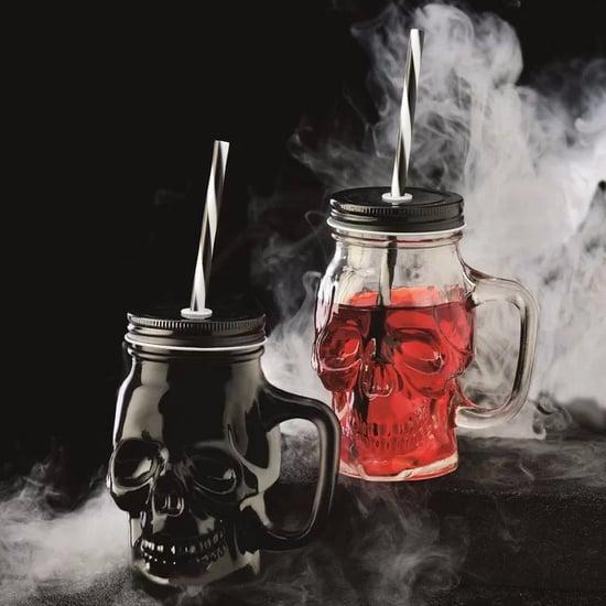 Skull Mason Jars