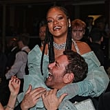 Rihanna and Mert Alas at the British Fashion Awards 2019 in London
