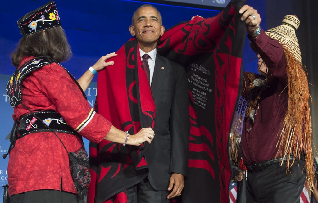 Barack Obama at White House Tribal Nations Conference