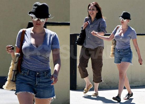 Photos of Scarlett Johansson With her Mother Melanie Sloan