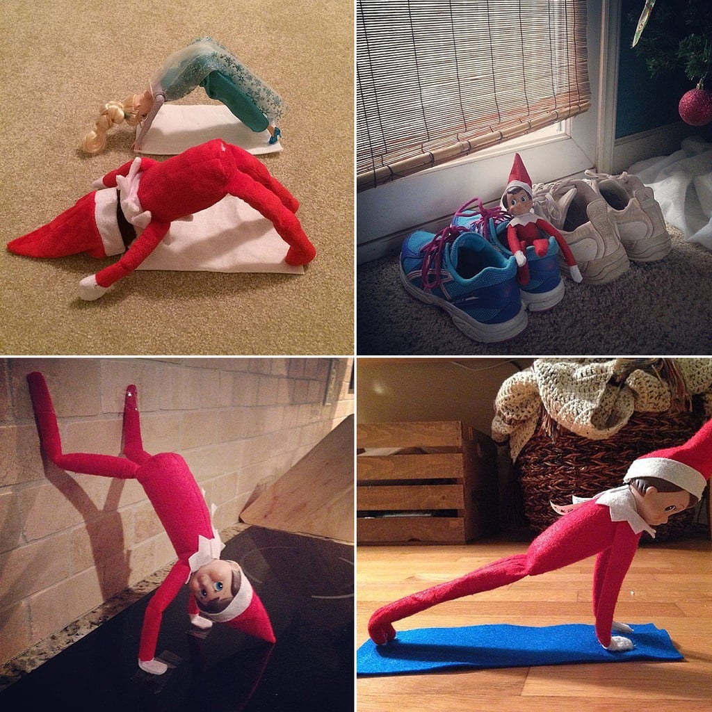 Healthy Elf on the Shelf Ideas