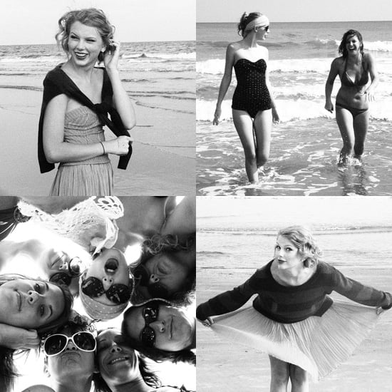 Taylor Swift Shares Her Private Beach Vacation Photos With Fans!