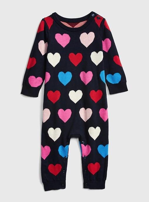 Heart Sweater One-Piece