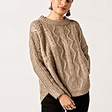 Azalea Crew Neck Chunky Sweater