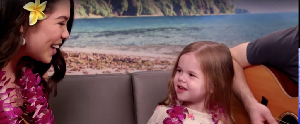 This 4-Year-Old Just Blew Us Out of the Water With Her Moana Duet