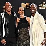 Jordana With Her The Fast and the Furious Costars