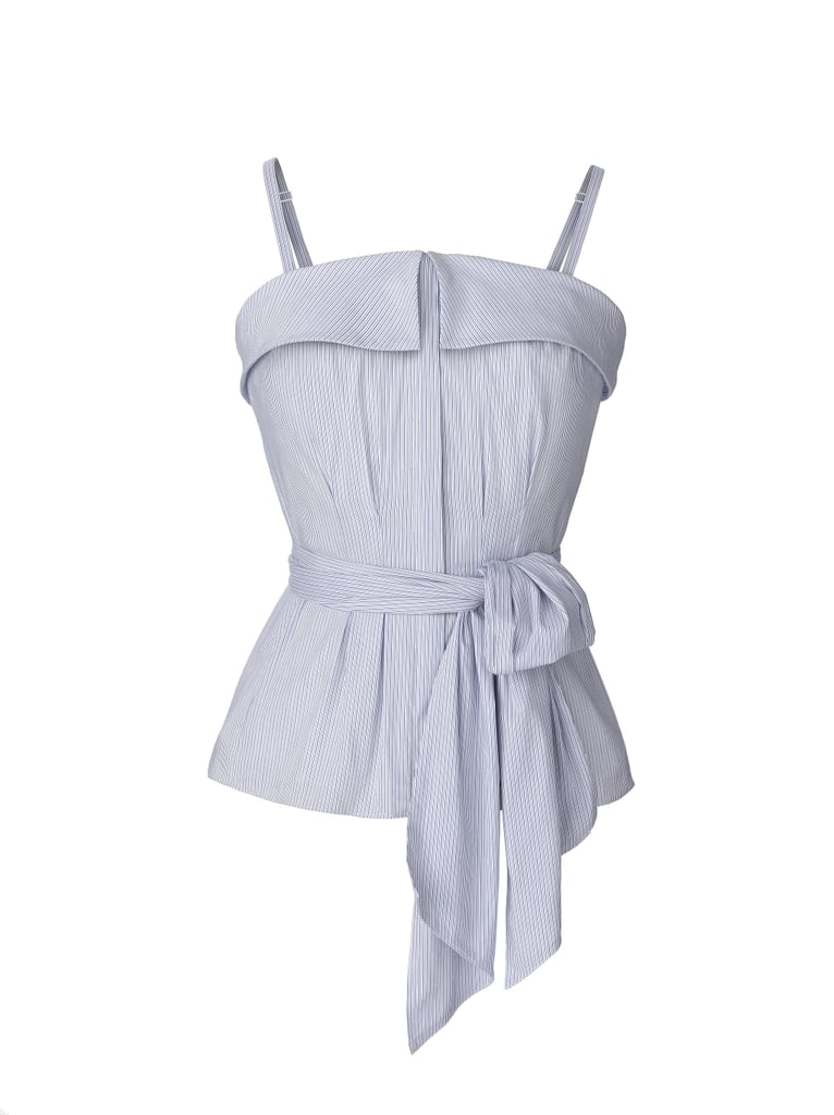 The Stripe Poplin Bustier