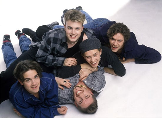 "Picture and Poll On Take That Reuniting With Robbie Williams For ""One Year Only"" Including An Album and Tour"