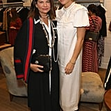 Pictured: Natalie Massenet and Gwyneth Paltrow