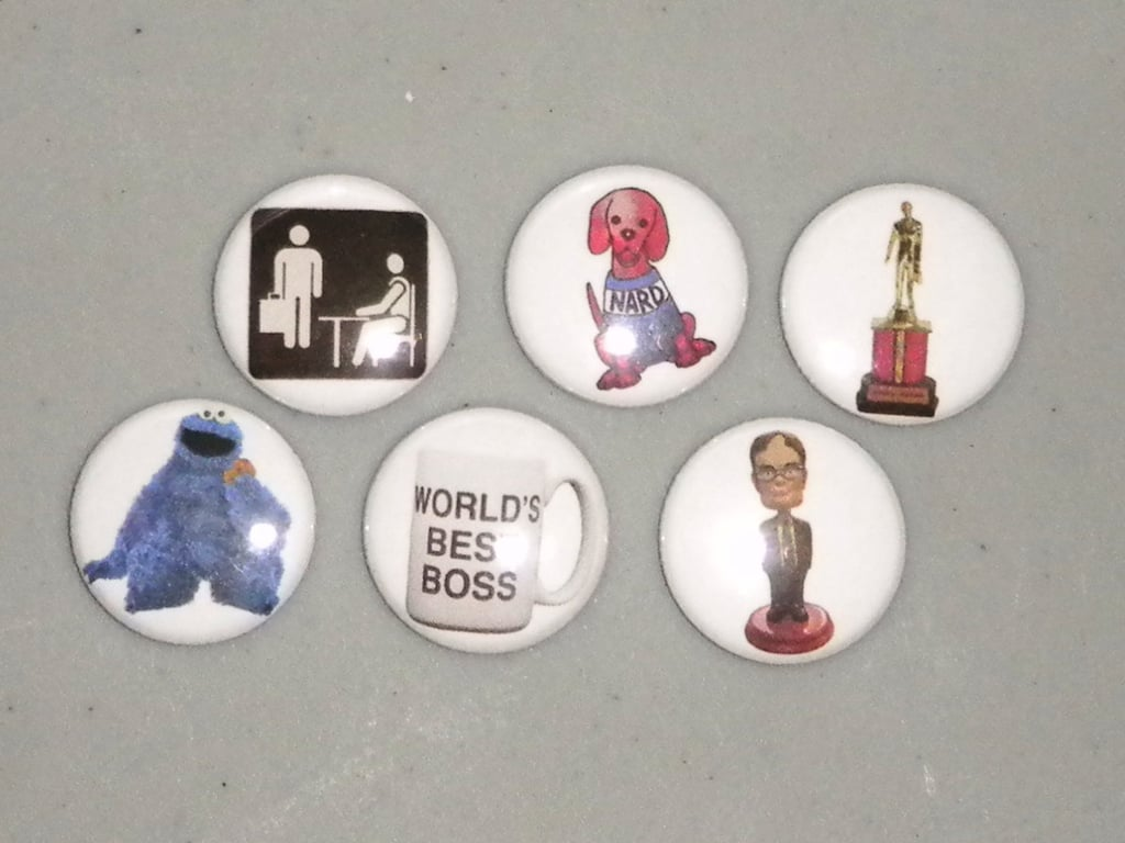 The Office Magnets ($7)