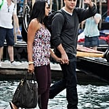 Matt and Luciana Say Ciao to the Venice Film Festival