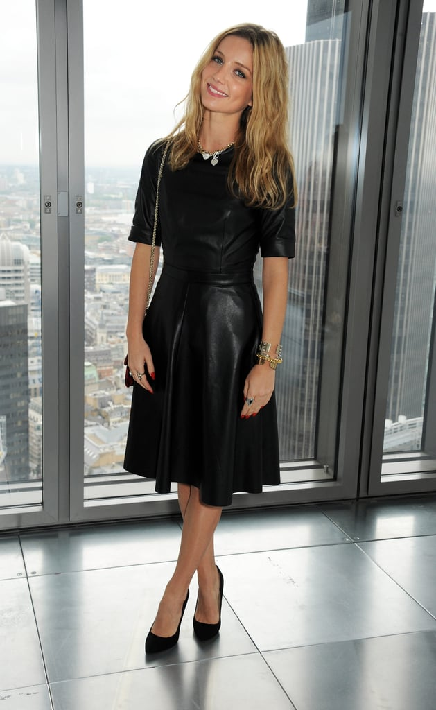 9503829dde436 Attending the Whistles show at London Fashion Week, Annabelle opted for a  fit-and