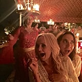 """Baby and Sporty proved they haven't changed. """"Too much fun with Emma and Mel!"""" Eva captioned this picture."""