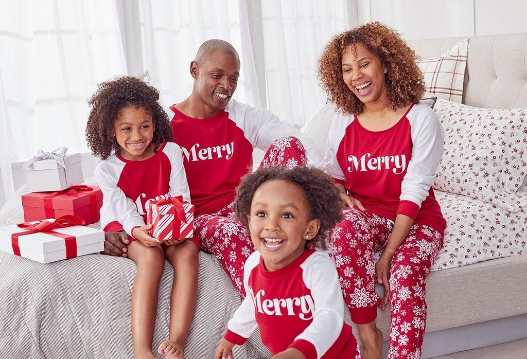 Family Matching Merry Pajamas