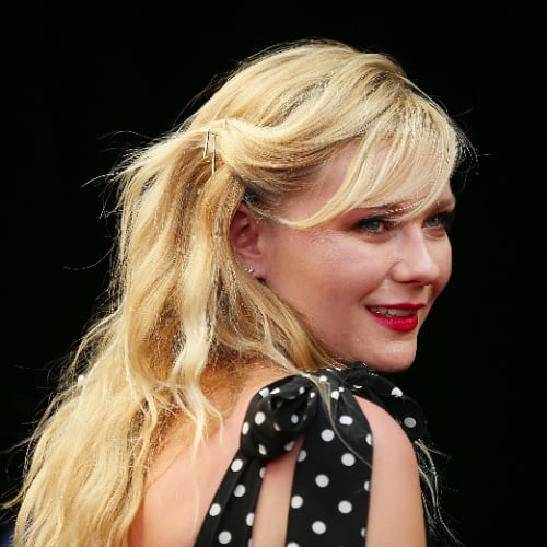 Kirsten Dunst Hair at Anchorman 2 Premiere
