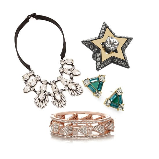 Colored Jewelry For New Year's Eve