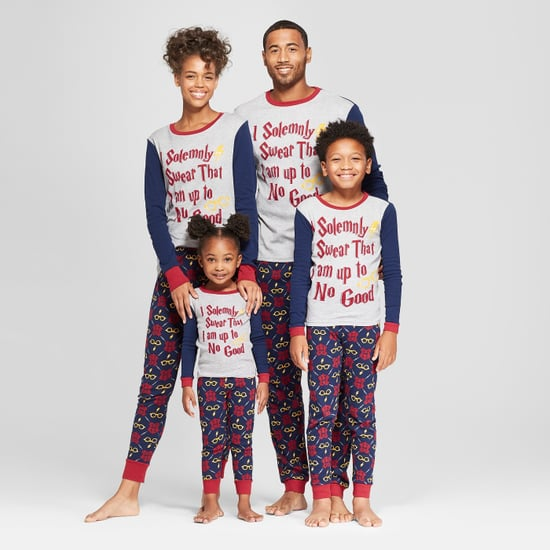 Matching Family Harry Potter Pajamas at Target