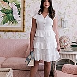 Gal Meets Glam Collection Ann Tiered Cotton Dress