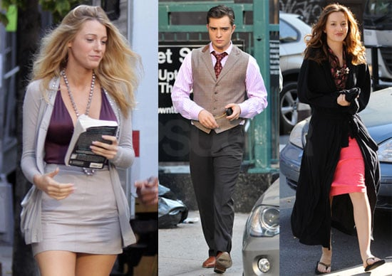 Photos of Gossip Girl on Set