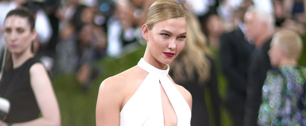 Karlie Kloss Cut Her Dress at Met Gala 2016
