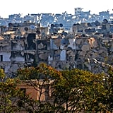The destruction in an Aleppo neighborhood that was recaptured by Syrian forces in October.