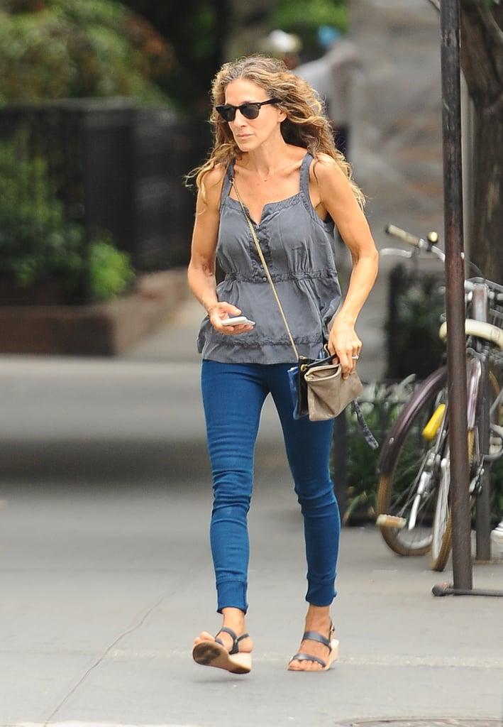 f8f47d0a51d Sarah Jessica Parker Wearing Jeans