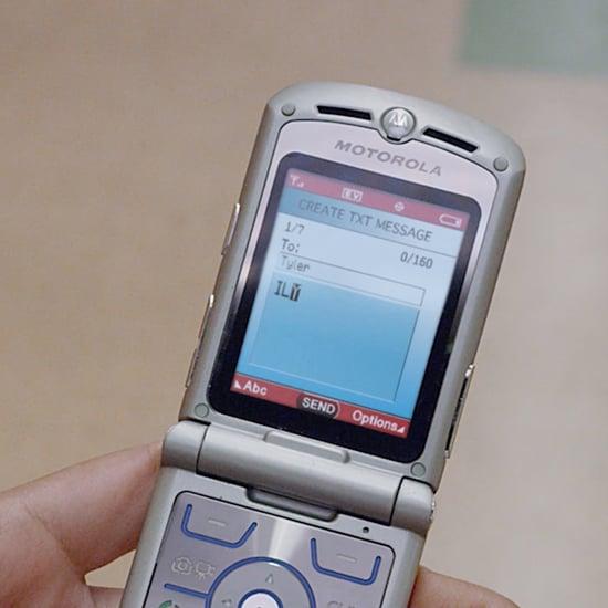 Motorola RAZR Flip Phone Ad
