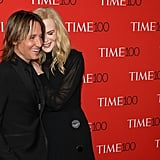 Nicole laid her head gently on Keith's at the 2018 Time 100 Gala in April.