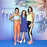 Katrina Scott, Lisa Sugar, and Karena Dawn at POPSUGAR Play/Ground