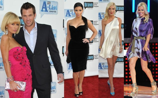 Photos of Paris Hilton, Tori Spelling, Kim Kardashian, Jenny McCarthy at A-List Awards