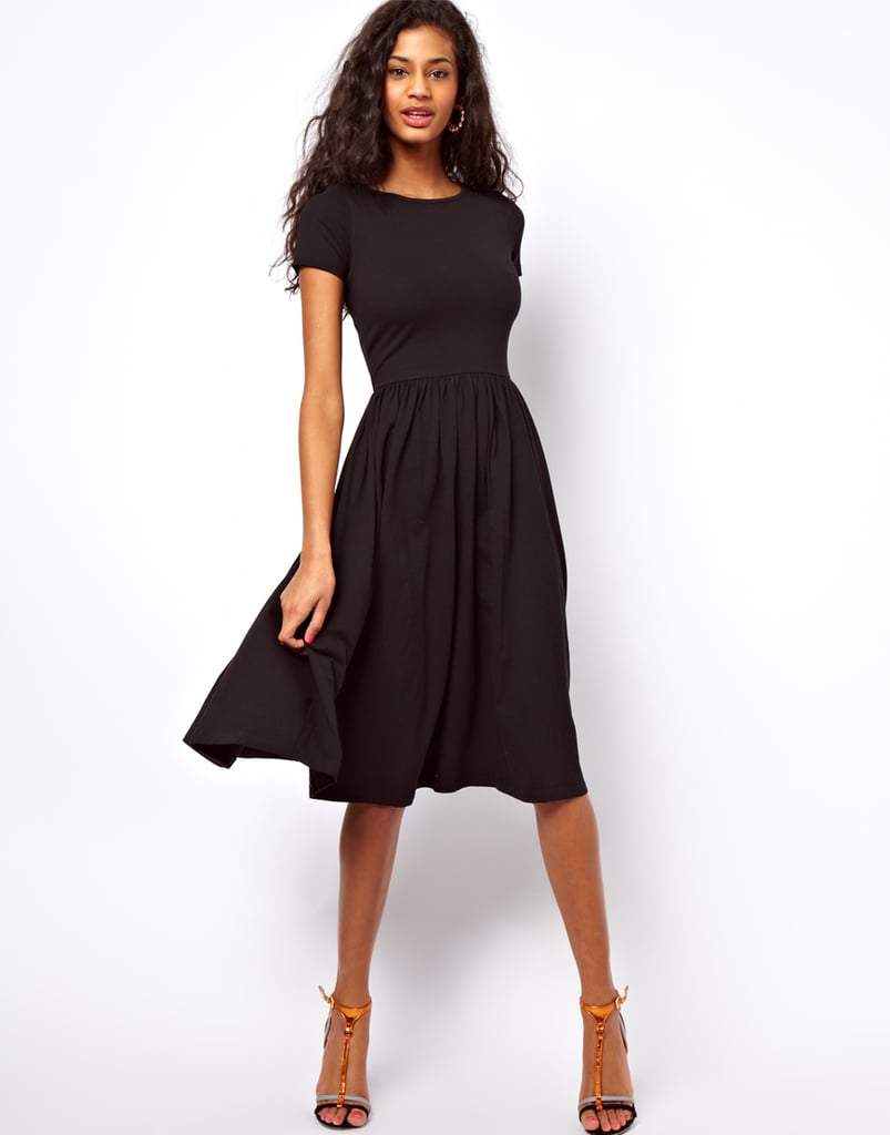 Who doesn't love an all-occasion-proof ASOS midi dress ($42)?
