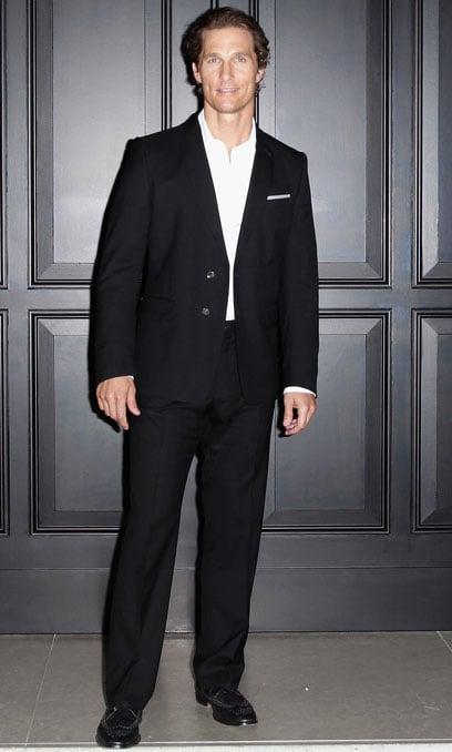 44. Matthew McConaughey