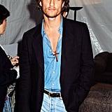 Matthew McConaughey, 1996