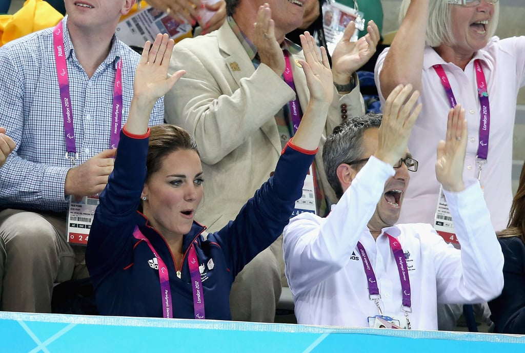 Kate Gets Emotional at Paralympic Swimming