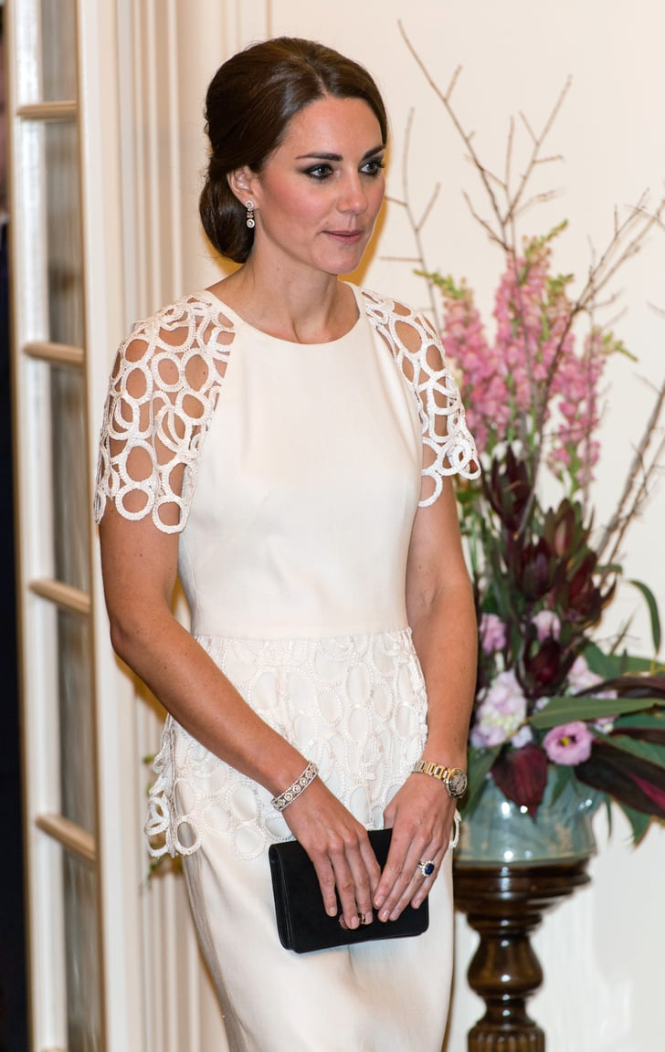 White And Yellow Diamond Jewelry Kate Middleton S Best