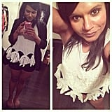 Agree to disagree? While Mindy Kaling loved her tasseled Opening Ceremony tank, the verdict was out among her family members. Source: Instagram user mindykaling