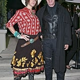 Tim Allen and Jane Hajduk as a Cowgirl and Western Figure