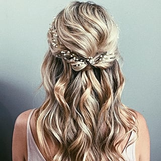 Half-Up Wedding Hair Ideas
