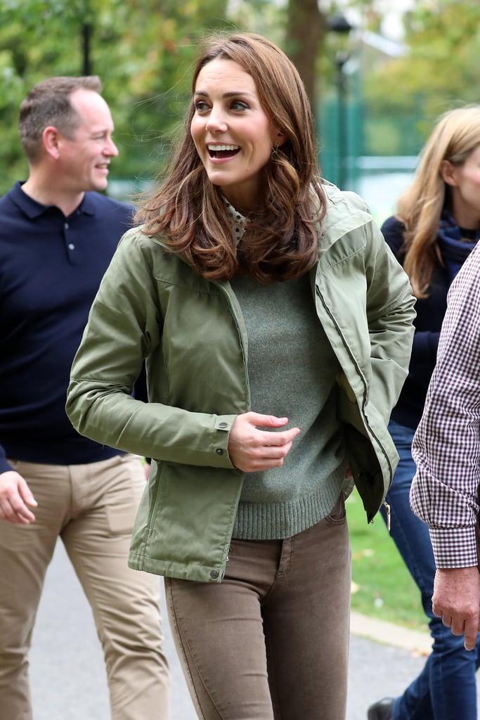 Kate Middleton Brown Boots October 2018